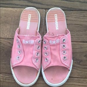Converse Slides Sandals W8 M6 Bubblegum Pink